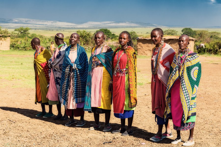 Massai Women 7399